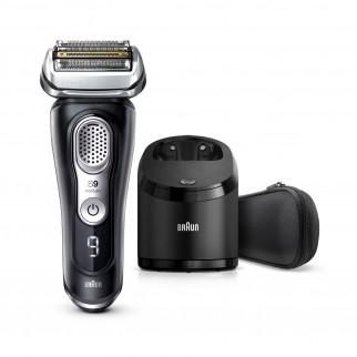 Braun Series 9 9360cc Rasoio da Barba con Stazione Di Pulizia Clean&Charge