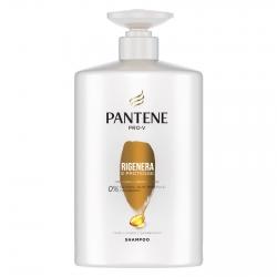 Pantene Pro-V Rigenera e Protegge Shampoo per Capelli Deboli e Danneggiati - Flacone da 1 Litro
