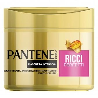 Pantene Pro-V Ricci Perfetti Maschera Intensiva per Capelli Ricci e Ribelli - Vasetto da 300ml