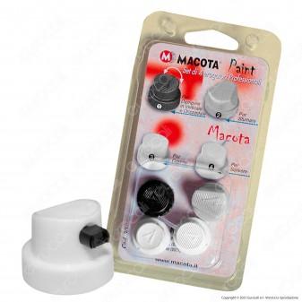 Erogatori per Bombolette Spray - Set da 4 - Macota