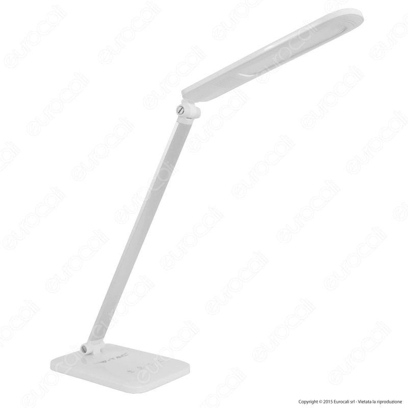 Lampada da tavolo led 7w multifunzione v tac vt 1009d for Lampada tubolare led