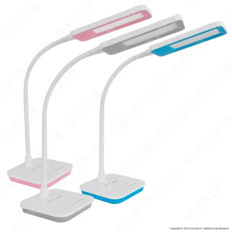 Lampada da tavolo led 7w dimmerabile v tac vt 1007d - Lampada a led da tavolo ...