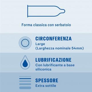Preservativi Durex Invisible Ultra Sottile - Scatola 6 / 12 pezzi