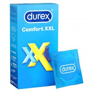 Preservativi Durex Comfort XXL - Scatola da 6 pezzi