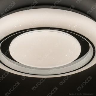 V-Tac VT-8473 Plafoniera LED 3in1 30W / 60W Forma Circolare Effetto Cielo Stellato con Telecomando - SKU 76011