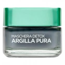 L'Oréal Paris Argilla Pura Maschera Viso Detox al Carbone