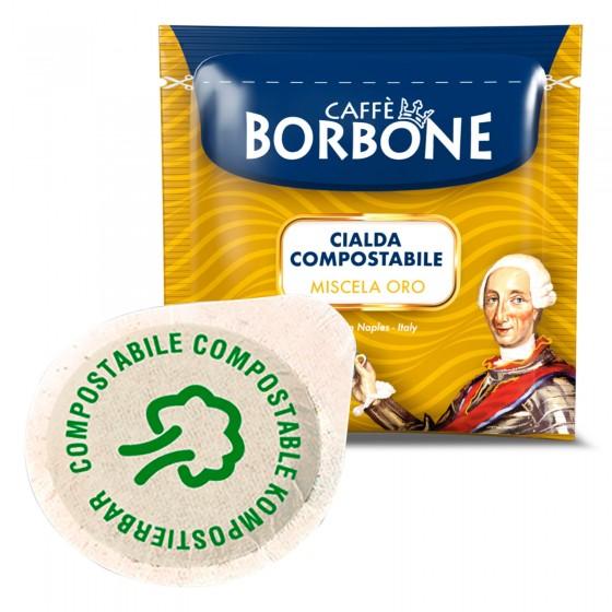 50 Cialde in Carta Caffè Borbone Miscela Oro