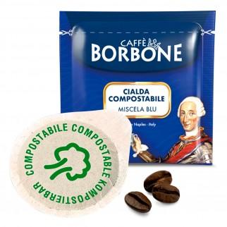 50 Cialde in Carta Caffè Borbone Miscela Blu