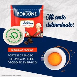 50 Cialde in Carta Caffè Borbone Miscela Rossa