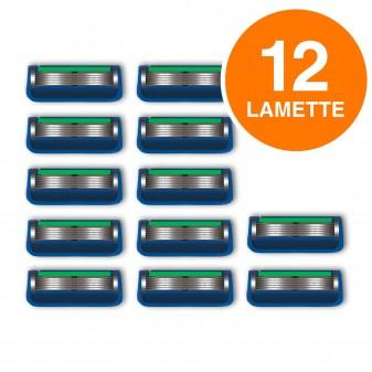 Gillette Fusion Proglide Power Lamette per Rasoio da Uomo - 3 Confezioni da 4 Ricariche