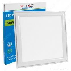 V-Tac VT-3032 Pannello LED 30x30 20W SMD con Driver - SKU 6214 / 6215 / 6216