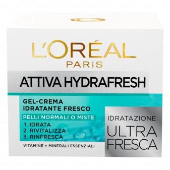 L'Oréal Paris Attiva HydraFresh Idratante Formula Ultra Fresca