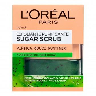 L'Oréal Paris Sugar Scrub Esfoliante Purificante ai Semi di Kiwi