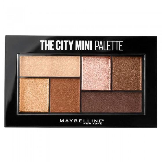 Maybelline New York The City Mini Palette Ombretti Colori 400 Rooftop Bronzes