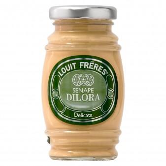Louit Frères Salsa Senape di Dilora Delicata - Vasetto da 130g