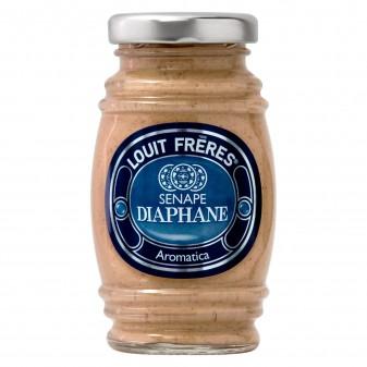 Louit Frères Salsa Senape Diaphane Aromatica - Vasetto da 130g