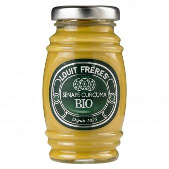 Louit Frères Salsa Senape Curcuma Bio - Vasetto da 130g