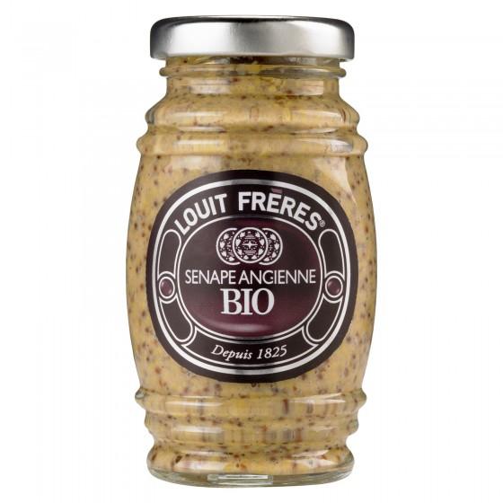 Louit Frères Salsa Senape Ancienne Bio - Vasetto da 130g
