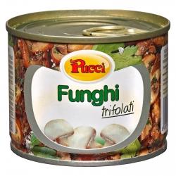 Pucci Funghi Trifolati in Olio - Lattina da 180g