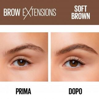 Maybelline New York Brow Extensions Matita Cremosa per Sopracciglia Colore 02 Soft Brown