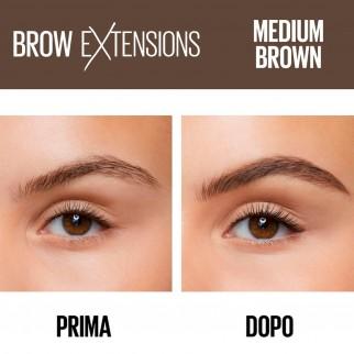 Maybelline New York Brow Extensions Matita Cremosa per Sopracciglia Colore 04 Medium Brown