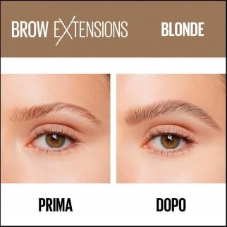 Maybelline New York Brow Extensions Matita Cremosa per Sopracciglia Colore 01 Blonde