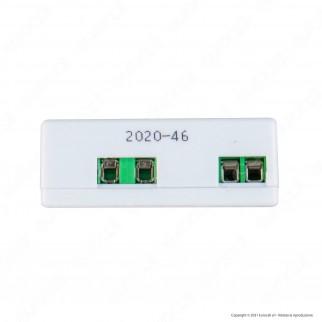 AcTEC Alimentatore Compatto a Tensione Costante 12V per LED Potenza Massima 6W - mod. 5050/6