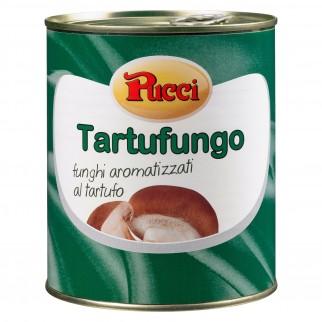 Pucci Funghi Aromatizzati al Tartufo - Lattina da 800g