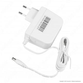 Led Line Alimentatore 12V 24W Bianco Plug&Play 2A con Jack 2.1 - mod. ZG24W12V(6)