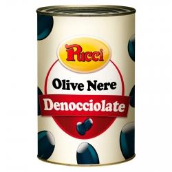 Pucci Olive Nere Denocciolate in Salamoia - Latta da 4,1Kg