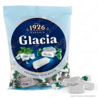 Caramelle Glacia Dure Ripiene al Gusto Menta Senza Glutine - Busta da 175g