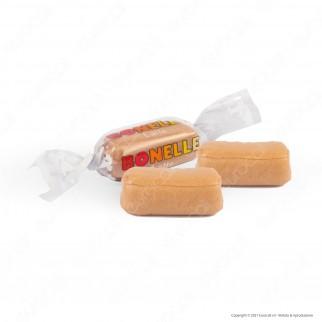 Caramelle Bonelle Toffee Morbide al Latte Senza Glutine per Vegetariani - Busta da 150g