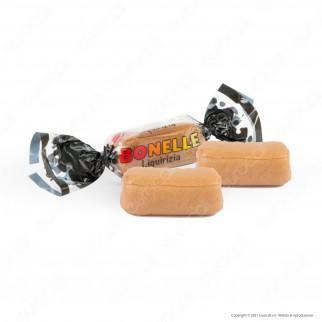 Caramelle Bonelle Toffee Morbide al Latte e Liquirizia Senza Glutine per Vegetariani - Busta da 150g