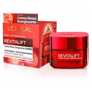 L'Oréal Paris Revitalift Crema Rossa Energizzante con Pro-Retinolo e Ginseng Rosso
