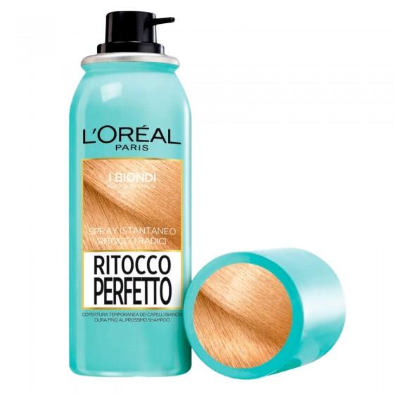 L'Oréal Paris Ritocco Perfetto Spray per Capelli Bianchi Colore Biondo