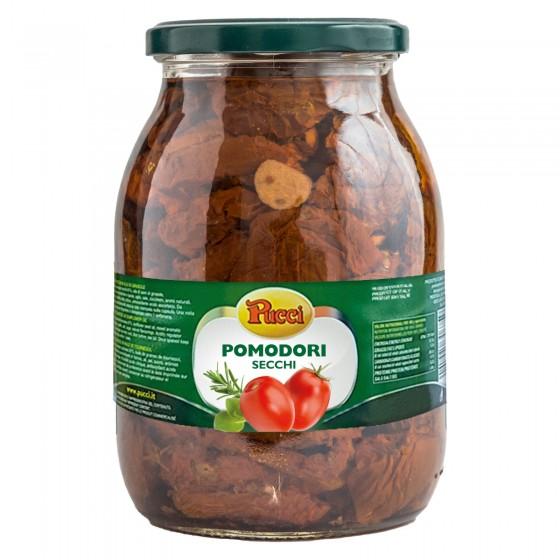 Pucci Pomodori Secchi in Olio - Barattolo da 960g