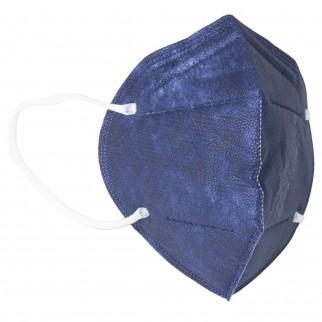 Sicura Protection 10 Mascherine Protettive Colore Blu Monouso con Fattore di Protezione Certificato FFP2 NR in TNT