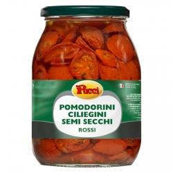 Pucci Pomodorini Ciliegini Semisecchi Rossi in Olio - Vasetto da 950g