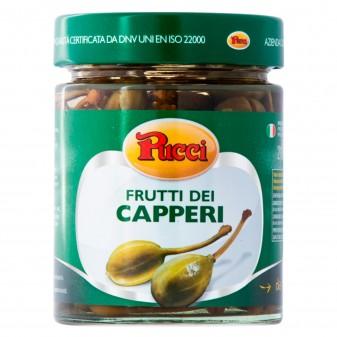 Pucci Frutti dei Capperi Sottaceto - Vasetto da 210g