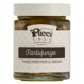 Pucci Tartufungo Funghi Aromatizzati al Tartufo - Vasetto da 200g