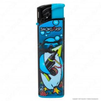 SmokeTrip Accendini Elettronici Ricaricabili Fantasia Pinguini - Box da 50 Accendini