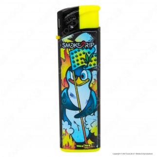 SmokeTrip Accendini Elettronici Ricaricabili Fantasia Pinguini - 5 Accendini