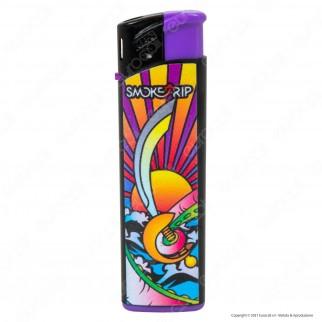 SmokeTrip Accendini Elettronici Ricaricabili Fantasia Kraken - Box da 50 Accendini
