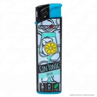 SmokeTrip Accendini Elettronici Ricaricabili Fantasia Gin Tonic - 5 Accendini