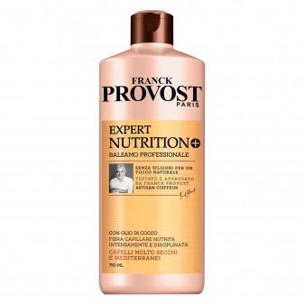 Franck Provost Expert Nutrition+ Balsamo Professionale per Capelli Molto Secchi con Burro di Karité e Olio di Cocco