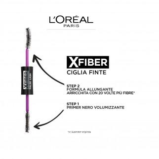 L'Oréal Paris XFiber False Lash Mascara Nero Doppio Gesto