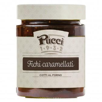 Pucci Fichi Caramellati Cotti al Forno - Vasetto da 250g