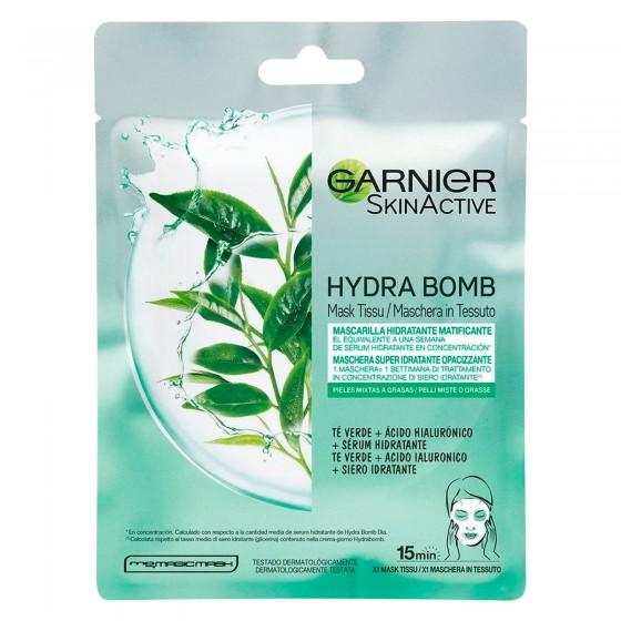 Garnier SkinActive Maschera in Tessuto Hydra Bomb Tè Verde Monouso