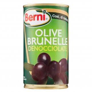 Berni Olive Brunelle Denocciolate in Salamoia - Lattina da 350g