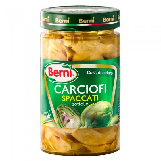 Berni Carciofi Spaccati Sottolio - Vasetto da 290g